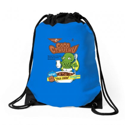 Cthuloops Logo Drawstring Bags Designed By Doniemichael