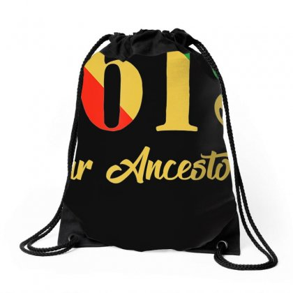 1619 Our Ancestors T Shirt Drawstring Bags Designed By Nhan