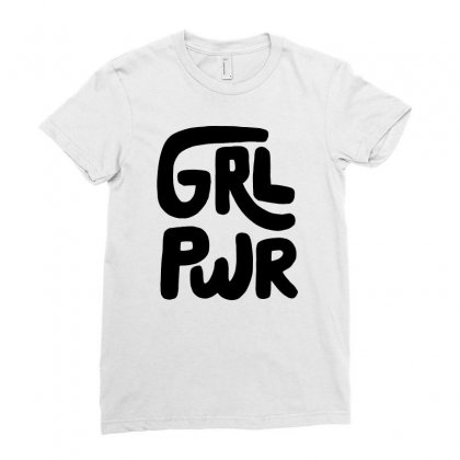 Girl Power Ladies Fitted T-shirt Designed By Mirazjason