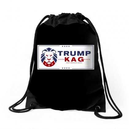 Keep America Great 2020 Drawstring Bags Designed By Tiococacola