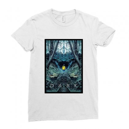 Dark Ladies Fitted T-shirt Designed By Titis
