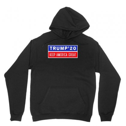 Trump 20 Kag Unisex Hoodie Designed By Tiococacola
