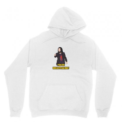 You Are Breathtaking Keanu Reeves Unisex Hoodie Designed By Doniemichael