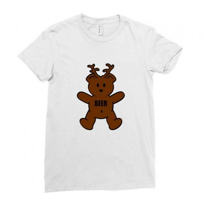 Macs Bear Ladies Fitted T-shirt Designed By Titis