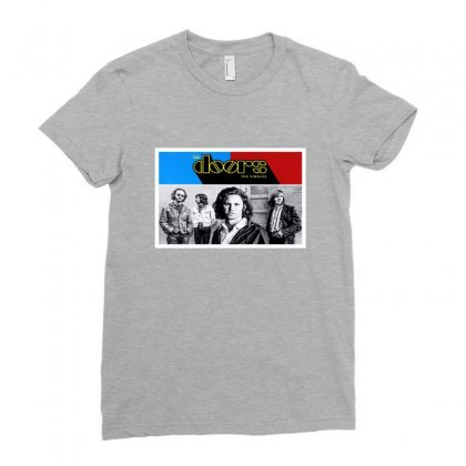 The Doors Ladies Fitted T-shirt Designed By Titis