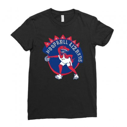 Torrano Hoopball Lizards Ladies Fitted T-shirt Designed By Mirazjason