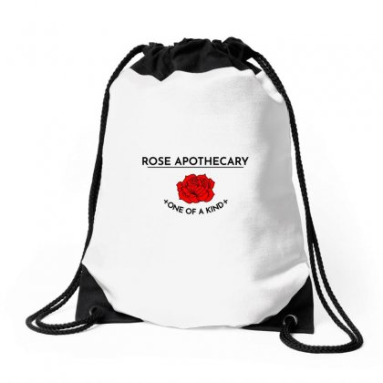 Rose Apothecary Logo Drawstring Bags Designed By Titis