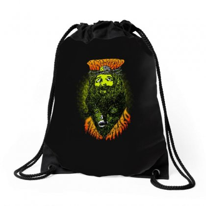 Aweosome King Gizzard And The Lizard Wizard Drawstring Bags Designed By Blqs Apparel