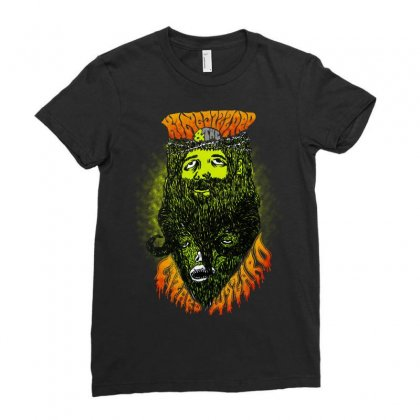 Aweosome King Gizzard And The Lizard Wizard Ladies Fitted T-shirt Designed By Blqs Apparel