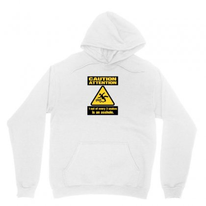 Caution Snakes Unisex Hoodie Designed By Ismi