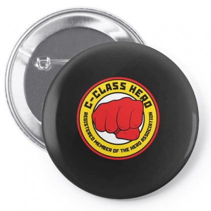 C Class Hero Pin-back Button Designed By Ismi