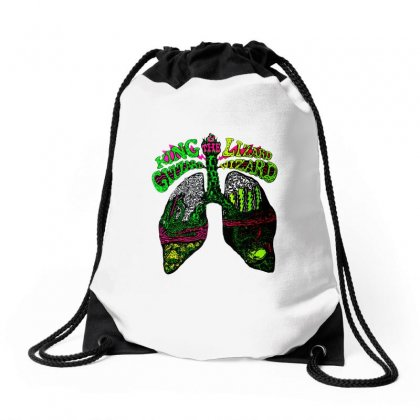 Funny King Gizzard Drawstring Bags Designed By Blqs Apparel