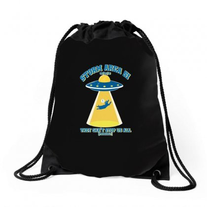 Storm Area Merch Drawstring Bags Designed By Titis