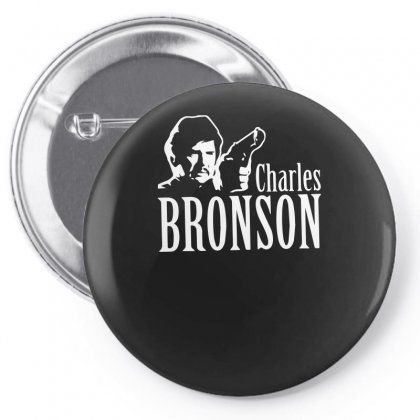 Charles Bronson Pin-back Button Designed By Ismi
