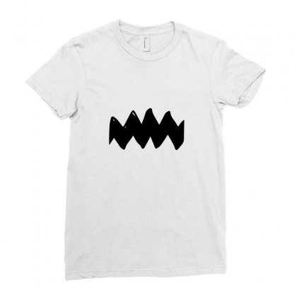 Charlie Brown Ladies Fitted T-shirt Designed By Ismi