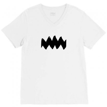 Charlie Brown V-neck Tee Designed By Ismi