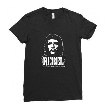 Che Guevara Rebel Ladies Fitted T-shirt Designed By Ismi