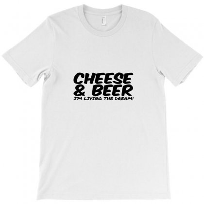 Cheese & Beer T-shirt Designed By Ismi