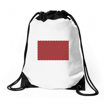 Pattern Brown Little Triangle Drawstring Bags Designed By Kayanphoto