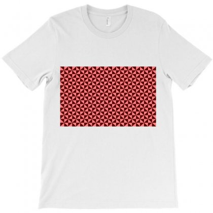 Pattern Brown Little Triangle T-shirt Designed By Kayanphoto