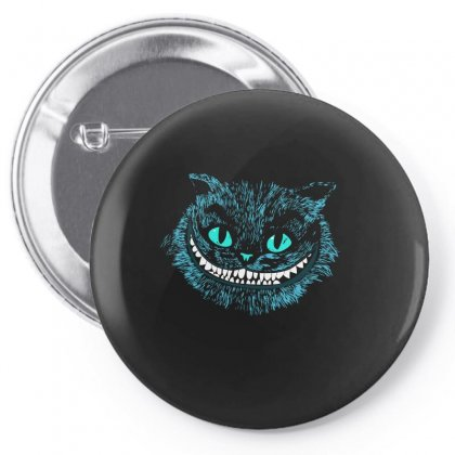 Cheshire Blue Head Pin-back Button Designed By Funtee