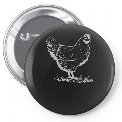 Chicken Pin-back Button Designed By Funtee