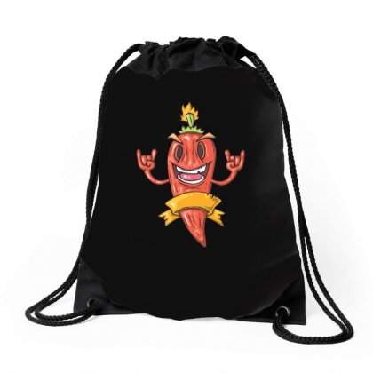 Chilli Pepper Drawstring Bags Designed By Funtee