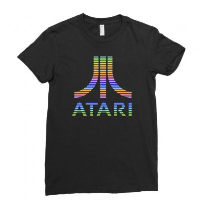 Atari Ladies Fitted T-shirt Designed By Mirazjason
