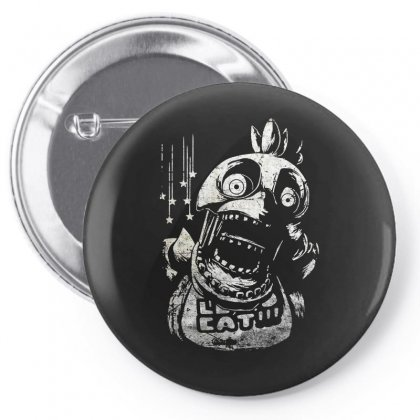 Chica Fnaf Pin-back Button Designed By Funtee