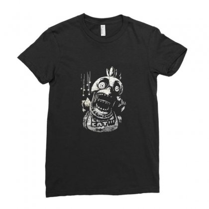 Chica Fnaf Ladies Fitted T-shirt Designed By Funtee