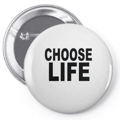 Choose Life Pin-back Button Designed By Funtee