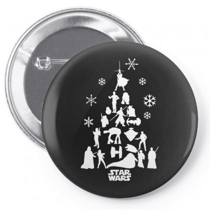 Christmas Darth Vader Funny Pin-back Button Designed By Funtee