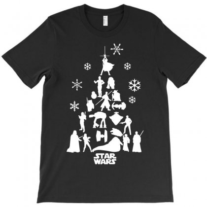 Christmas Darth Vader Funny T-shirt Designed By Funtee