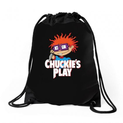 Chuckie's Play Drawstring Bags Designed By Funtee