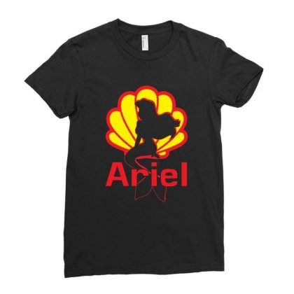 Arie Little Mermaid Ladies Fitted T-shirt Designed By Mirazjason