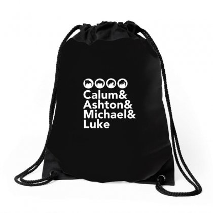 Calum Drawstring Bags Designed By Disgus_thing
