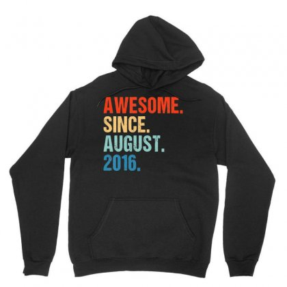 Kids Awesome Since August 2016 3rd Birthday Gift 3 Yrs Old Shirt T Shi Unisex Hoodie Designed By Nhan