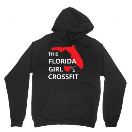 This Florida Girl Hearts Crossfit T Shirt Unisex Hoodie Designed By Hung
