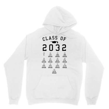 Class Of 2032 Grow With Me Shirt With Space For Checkmarks Unisex Hoodie Designed By Nhan