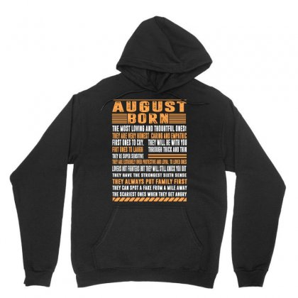 August Born Unisex Hoodie Designed By Omer Acar
