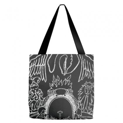 Queen Official Tour 75 Crest Tote Bags Designed By Mdk Art