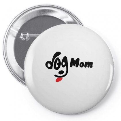 Dog Mom Pin-back Button Designed By Omer Acar