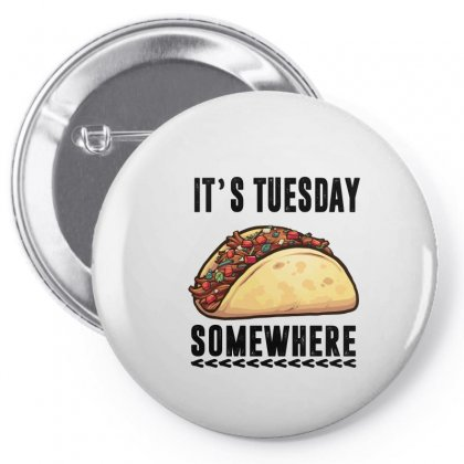 Lebron James Taco Tuesday It's Tuesday Somewhere Pin-back Button Designed By Omer Acar