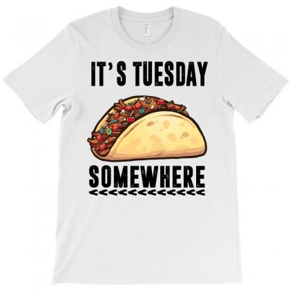 Lebron James Taco Tuesday It's Tuesday Somewhere T-shirt Designed By Omer Acar