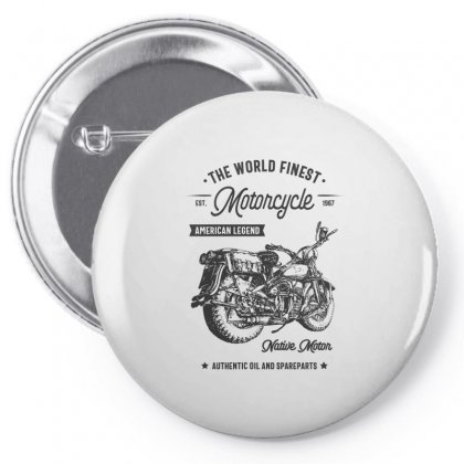The World Finest Motorcycle Pin-back Button Designed By Cidolopez