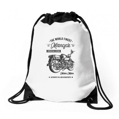 The World Finest Motorcycle Drawstring Bags Designed By Cidolopez
