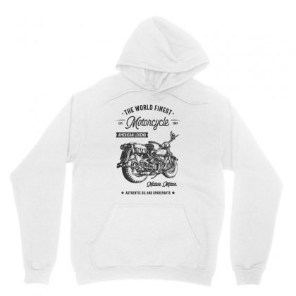 The World Finest Motorcycle Unisex Hoodie Designed By Cidolopez