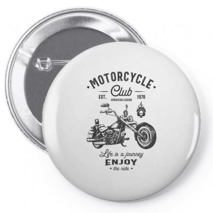 Motorcycle Club Pin-back Button Designed By Cidolopez