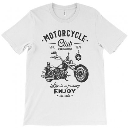 Motorcycle Club T-shirt Designed By Cidolopez