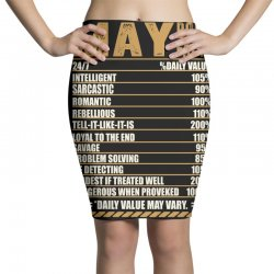 may born facts Pencil Skirts | Artistshot